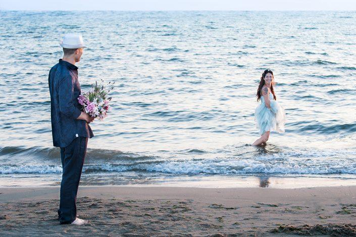 Sposa in mare